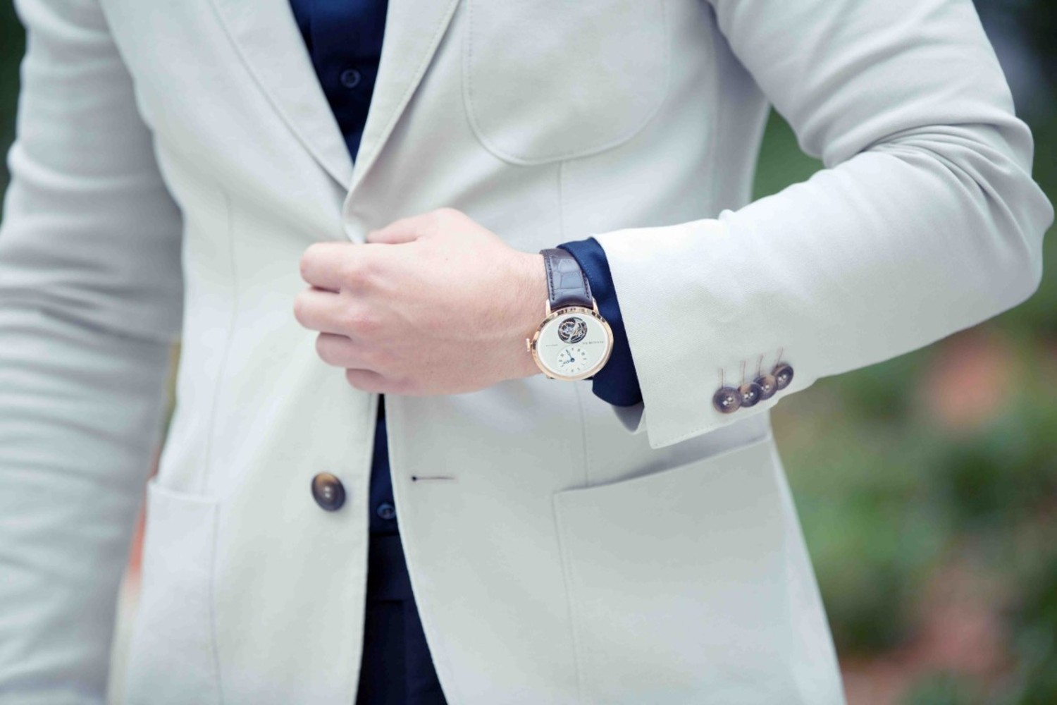 Mens jacket button rules - The Top Button Of Two Button Suits Or Middle Button Of A Three Button Suits Must Always Be Placed At Precisely The Navel It Is Considered A Big Custom Suit