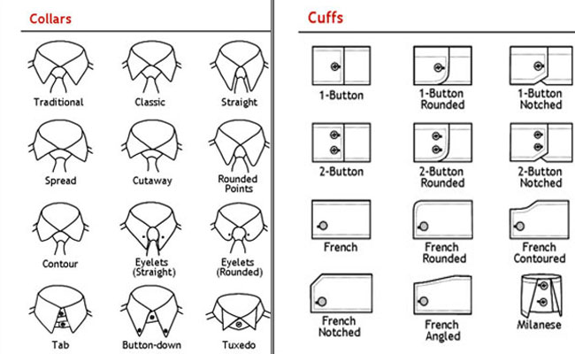 how collars and cuffs define best tailor bangkok shirt personality  tom u0026 39 s fashion